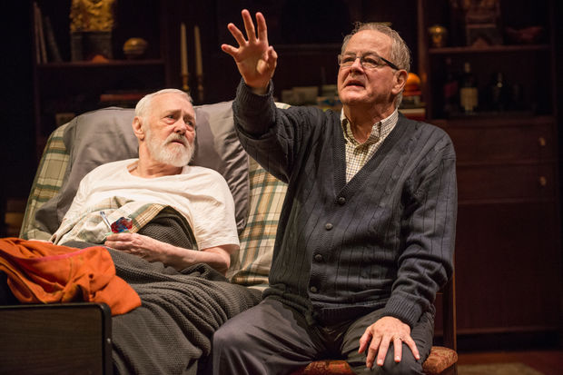 Old pros John Mahoney and Francis Guinan anchor Steppenwolf Theatre's season-opening production of