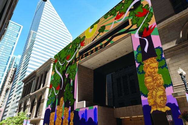 Work will start Thursday on this big mural at the Chicago Cultural Center honoring 20 notable Chicago women.