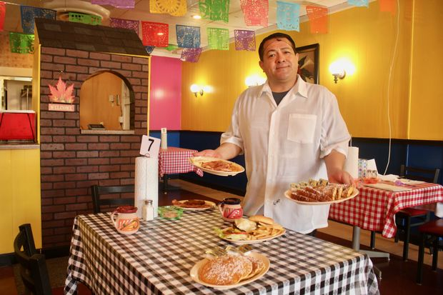 El Mariachi de Los Compadres, 4929 W. Irving Park Road, serves a long list of American breakfast items.