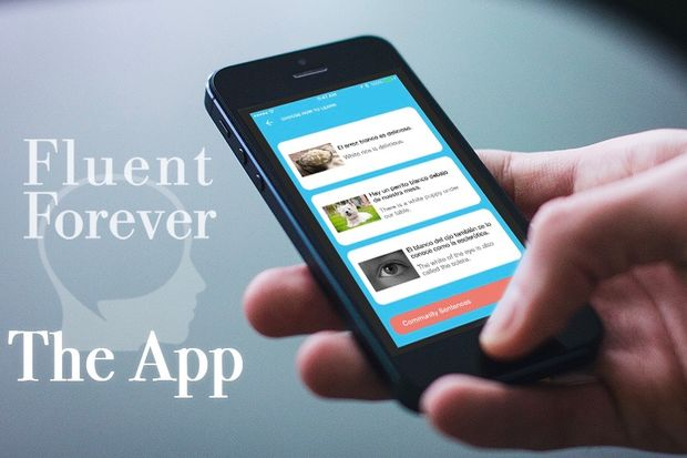 The Fluent Forever app is expected to launch next year.
