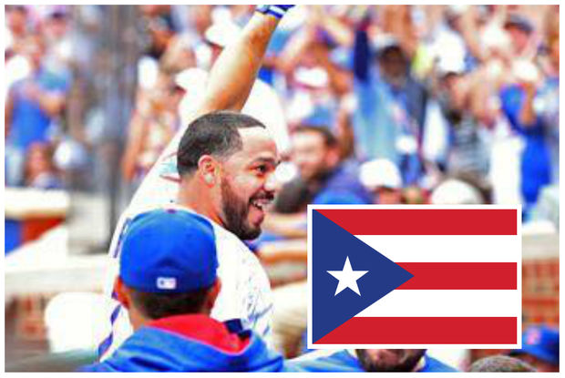 Cubs catcher Rene Rivera and his wife, Mariel Perez, are raising money to help Puerto Rico recover after the island was hit by hurricanes Irma and Maria.