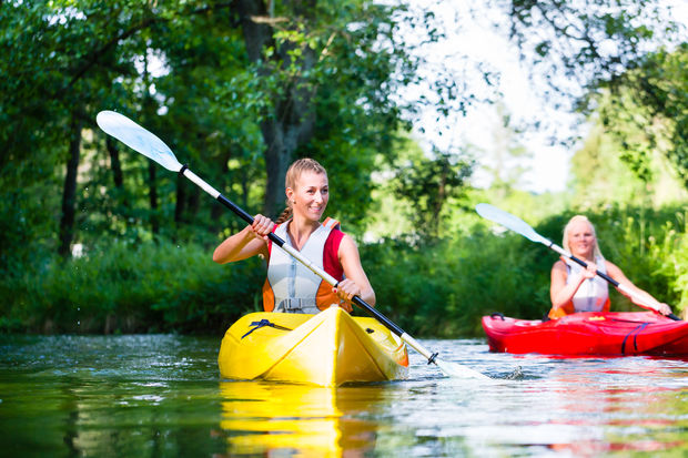 The Chicago Park District is offering a free opportunity to go canoeing in Garfield Park's lagoon.