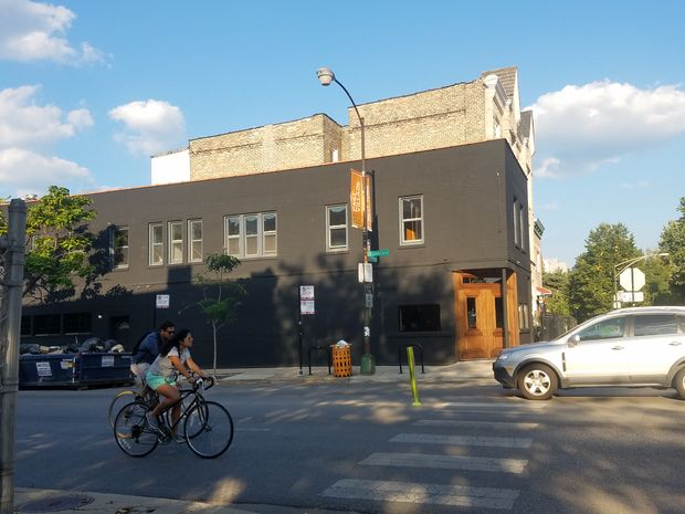 Former Bar DeVille at 701 N. Damen Ave.
