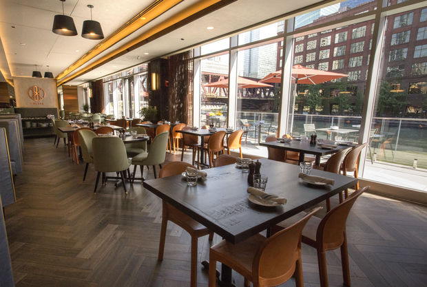 Porter Kitchen & Deck is now open in a new West Loop high-rise, 150 W. Riverside Plaza.