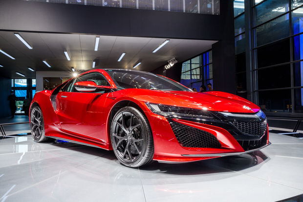 An Acura NSX similar to the one purchased by Brian White, using a stolen identity, according to prosecutors.