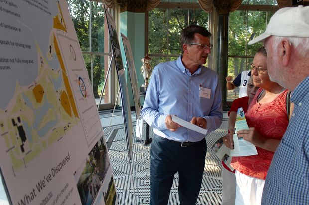 People who came out Monday to talk details about Jackson Park found the Chicago Park District is going back to basics.