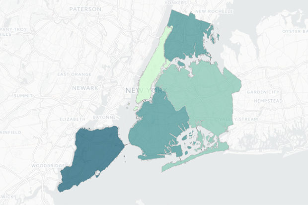 Staten Island has the highest percentage of residents born in New York State in the city, 69.46 percent, according to the NYU Furman Center.