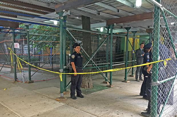 A man was shot on East 28th Street in Kips Bay Tuesday afternoon, FDNY officials said.