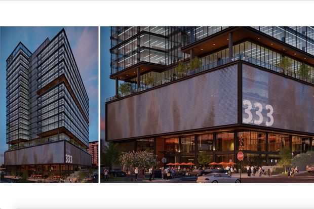 Expanding their footprint in the West Loop, Sterling Bay developers have big plans for a vacant parking lot at 333 N. Green St. across from the Coyne Building.