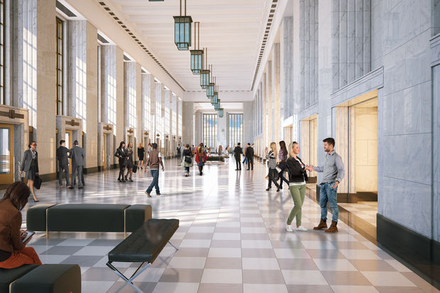 The building that overlooks the Congress is undergoing a redevelopment worth hundreds of millions.