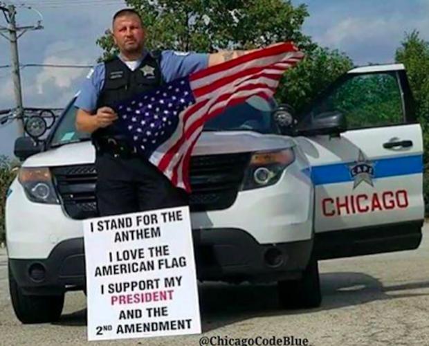 Chicago police officer John Catanzara is facing backlash from a Facebook post.