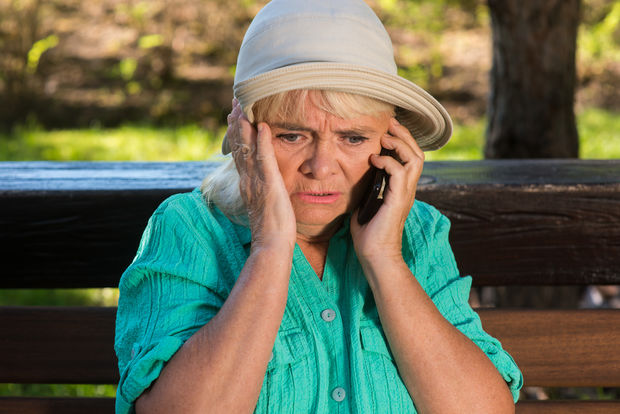 Senior citizens have been the target of phone scams, police warn.