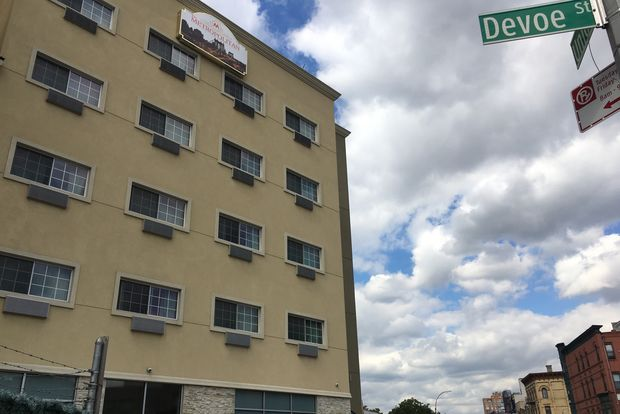 The city began renting rooms in the Union Avenue hotel in July, according to the city.