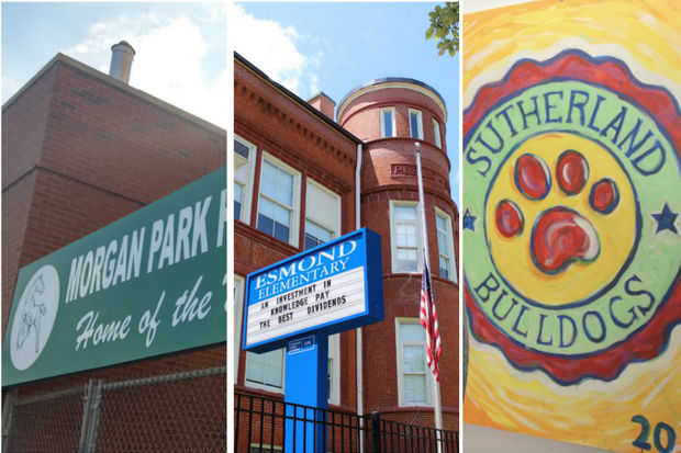 Morgan Park High School, Esmond Elementary School and Sutherland Elementary School all saw enrollment declines of nearly 10 percent this year, according to data provided by Chicago Public Schools.