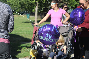 After a string of assaults against women walking with young children in strollers, Lincoln Square moms marched last month in a show of strength and support.