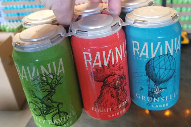 Be among the first to taste Ravinia's beers at Friday's launch event at Fountainhead.